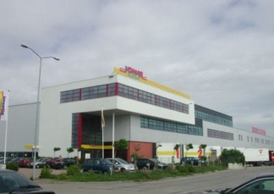 Distributie-centrum te Alkmaar