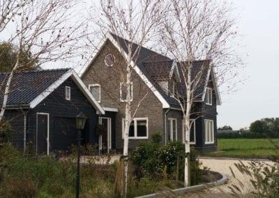 Nieuw woonhuis Aarlanderveen